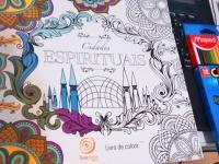 Cidades Espirituais - Livro de colorir