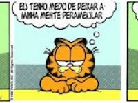 Garfield e seus pensamentos #tirinha