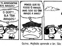 Mafalda - igual as outras... #tirinha