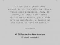 O nosso propósito #frasedasemana