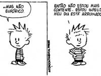 Os pensamentos de Calvin #tirinha