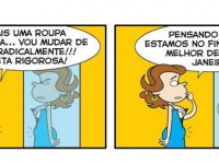 Projeto verão #tirinha