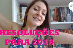 Resoluções literárias para 2018 - Vídeo