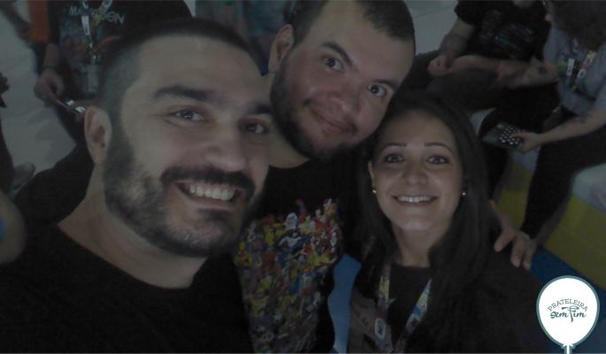 Beto Estrada e Diogo Braga do MRG - muito gentes boas :p e parceiros da galera.