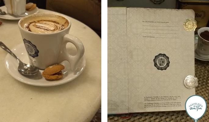Cafezinho e souvenirs